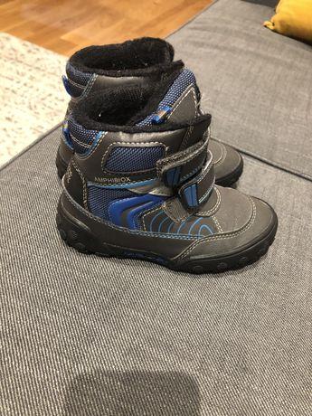 Zimowe buty śniegowce geox dla chlopca