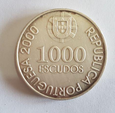 Moeda de 1000 escudos D. João de Castro