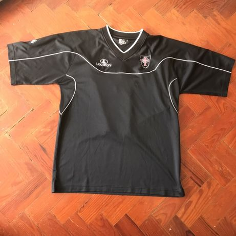 2 Camisolas Casa Pia A.C oficiais Usadas em Jogo Nike/Lacatoni