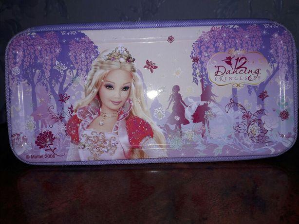 "Пенал для девочки ""Барби. 12 танцующих принцесс"""