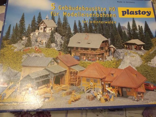 Zestaw konstrukcyjny PLASTOY krajobraz wioski