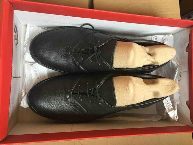 кожаные туфли 36р / стелька 22 см (новые, Турция)