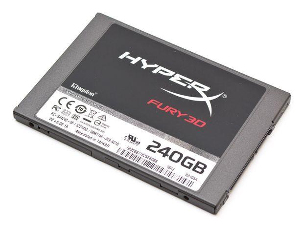 "Kingston SSD HyperX Fury 3D 240GB 2.5"" SATAIII TLC"