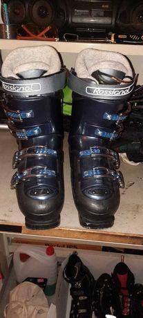 Buty narciarskie i narty