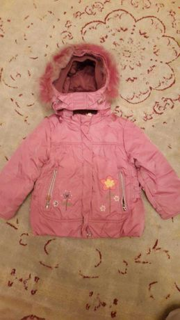 Тёплая зимняя курточка на 1,5 - 2 года