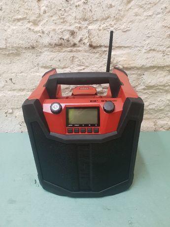 Radio budowlane z ładowarką HILTI RC 4/36-DAB 2019r + aku 3.0 Ah