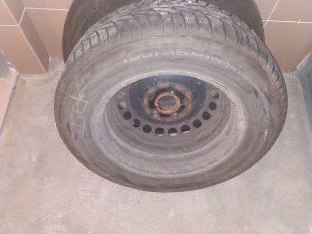 Koła zimowe audi VW seat skoda 5x112  r15 195/65