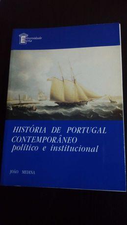 História de Portugal contemporâneo - político e institucional