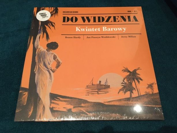 [GAD Records] Kwintet Barowy [LP KOLOR transparent] folia OSTATNIA!