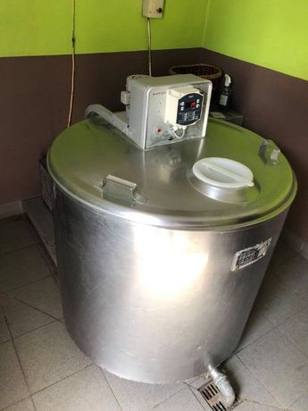 Schładzalnik zbiornik chłodnia do mleka 420l
