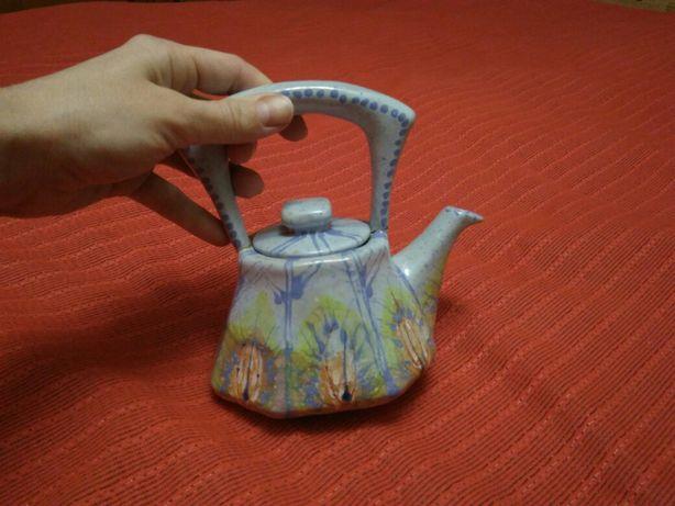 Керамічний декоративний чайник