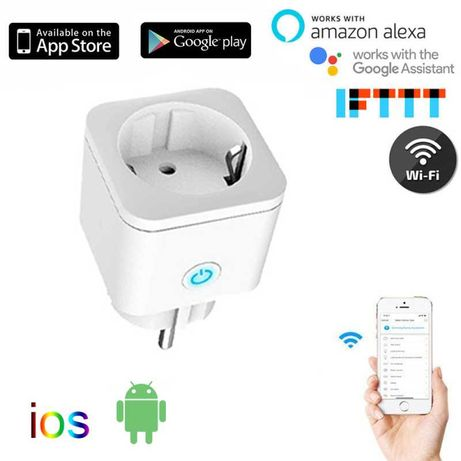 Tomada inteligente Smart House Alexa Google Echo WIFI NOVO