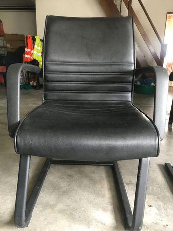 Cadeiras de escritório pretas