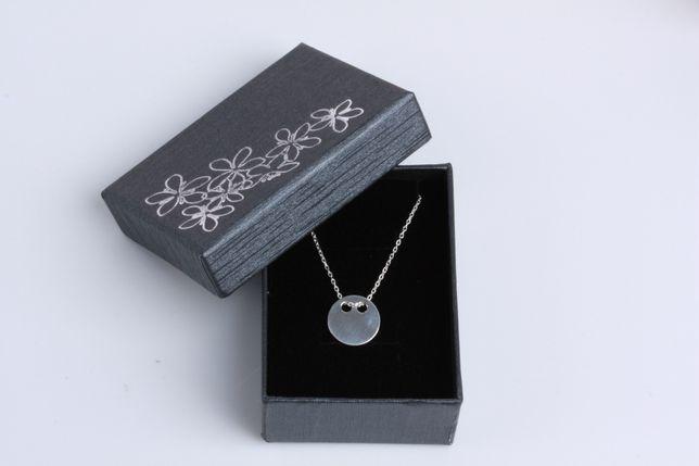 Naszyjnik celebrytka blaszka- srebro 925