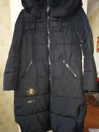 Пальто зимнее тёплое