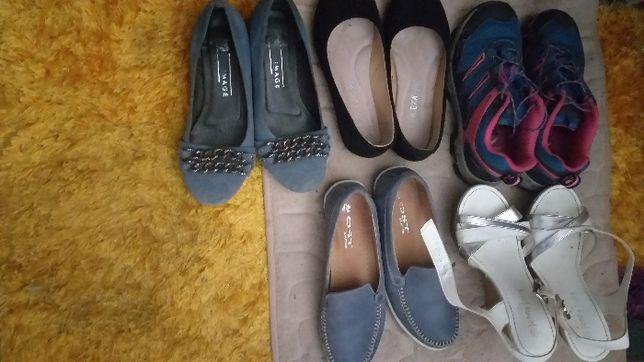 Półbuty botki sandały
