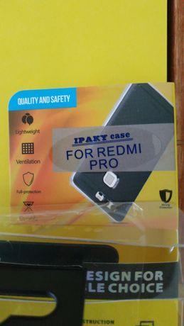 Capa protetora Xiaomi Redmi Pro + oferta
