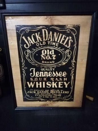 Quadro Artesanal Jack Daniels