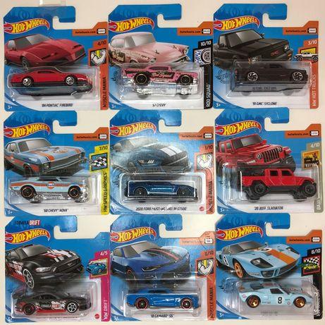 Hot Wheels Americanos(Ford, Dodge, Chevrolet)