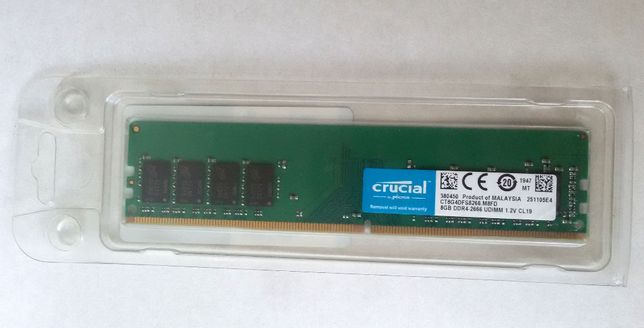 ОЗУ Crucial DDR4 8GB