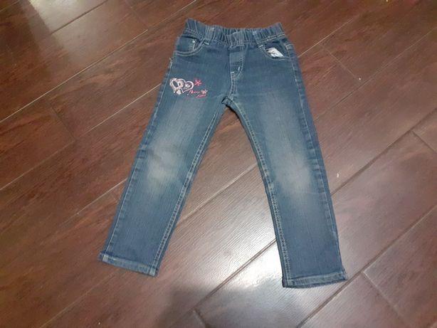 Spodnie typu jeans dla dziewczynki