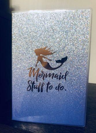 Notes w LINIĘ 80K A5 Mermaid Stuff Brokat nowy