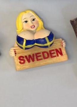 Magnes na lodówkę ze Szwecji