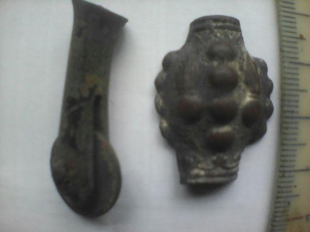 Кавалерийская шпора и навершие карандаша аксельбанта(ПМВ)