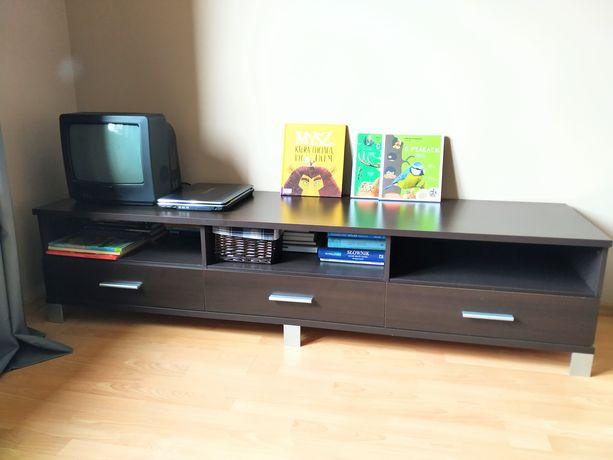 Komoda/szafka TV Black-Red-White