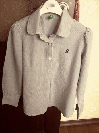 Блузка рубашка Benetton