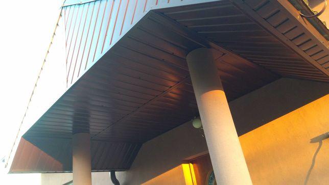 Montaż podbitki i rynien dachy grzanie papy  Adaptacja poddaszy