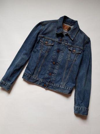 Джинсовый пиджак,джинсовая куртка,синяя джинсовка бойфренда levis