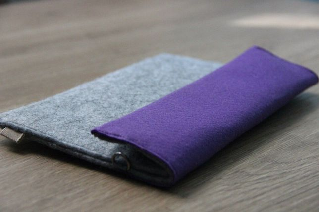 Чехол под mini планшет (7 дюймов) из войлока/ клатч/ сумочка