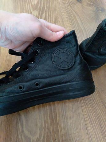 Кеды кроссовки высоки кожа Converse