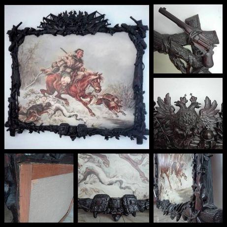 Sprzedam obraz w starej unikalnej ramie