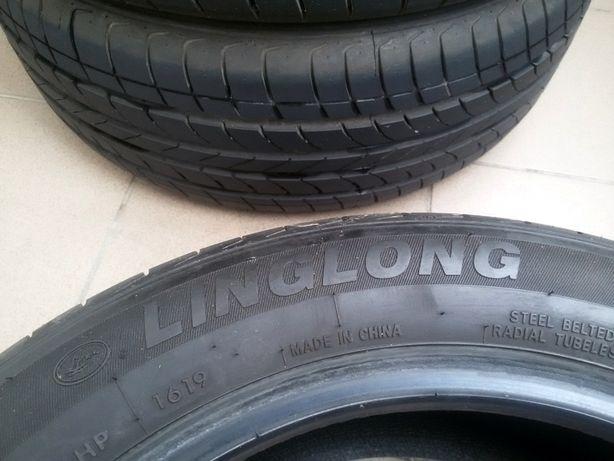 Продам летние шины б/у Ling Long green max 205/55/R16 как новые