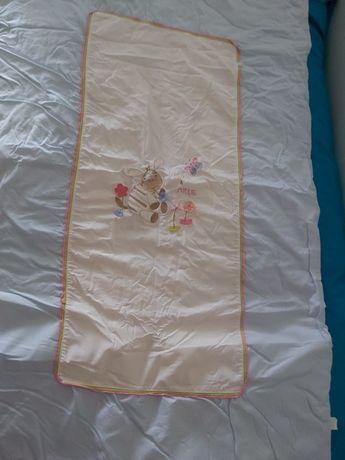 Conjunto Cama de Grades: COLCHA + PROTEÇÃO 120X60cm