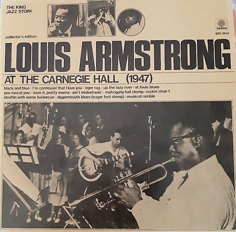 Musica Vinil Louis Armstrong‎– At The Carnegie Hall em 1974