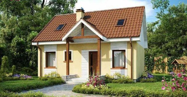 Дом в Бобрице возле Озера за 42300 + чердак, с первым взносом 10тис