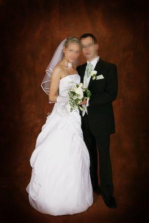 Suknia ślubna Cosmobella 7185 rozm 38