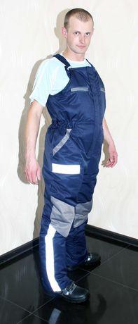 Полукомбинезон зимний, комбинезон, спецодежда, рабочая одежда
