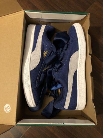 Sneakersy Nowe Puma Suede Heart Denim Wn's 38