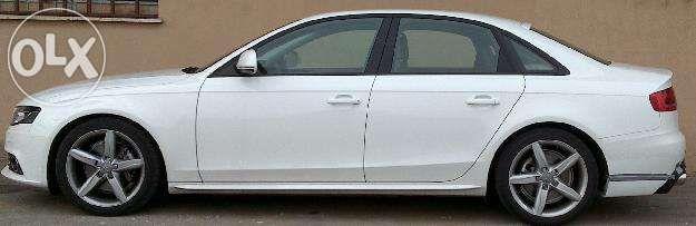 Embaladeiras Audi A4 B8 S Line + Aleron A4 B8 Avant S Line