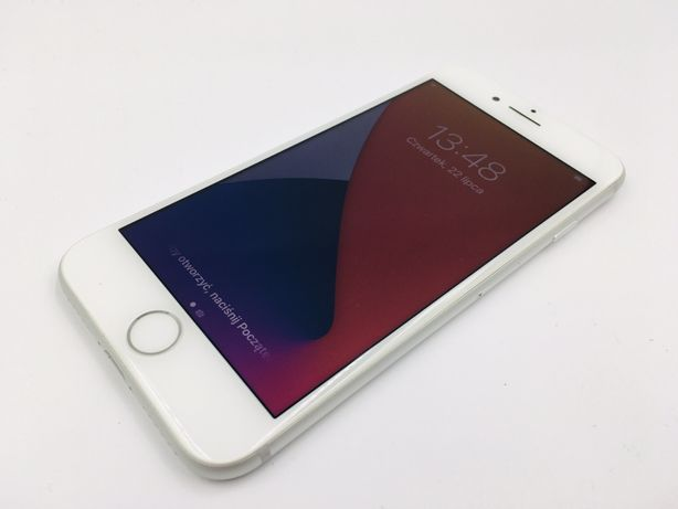 iPhone 8 256GB SILVER • GWAR 12 msc • DARMOWA wysyłka • FAKTURA