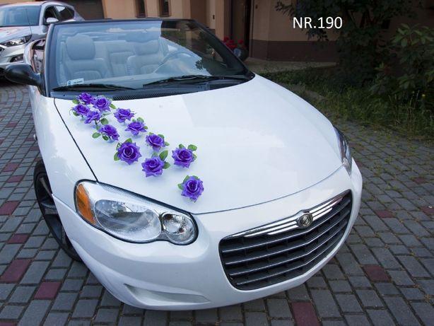 Ozdoba/dekoracja na samochód do ślubu/wesele/ NOWA