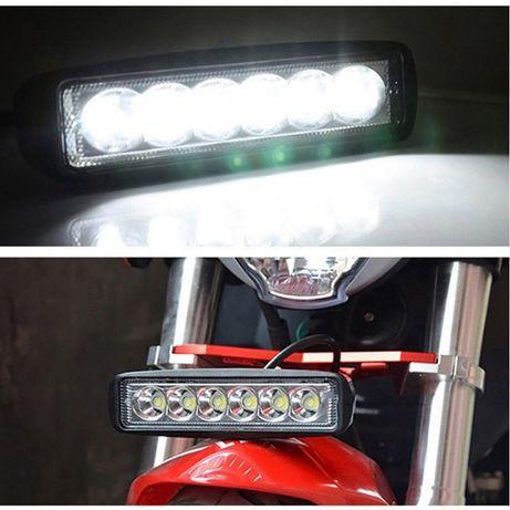 Farol LED para jipe, mota, tractores, Suv's. Daytime Minimos
