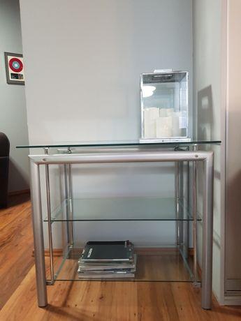 Szafka stolik szklany RTV używany stan bardzo dobry