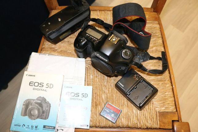 Canon EOS 5D MKI + Akcesoria Zestaw
