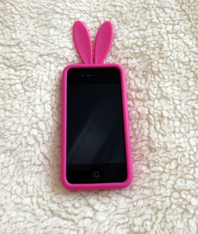 pokrowiec case RABBIT uszy na iphone 4 / 4s