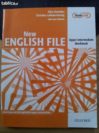 New EGLISH FILE UPPER-INTERMIDIATE Workbook + klucz odpowiedzi